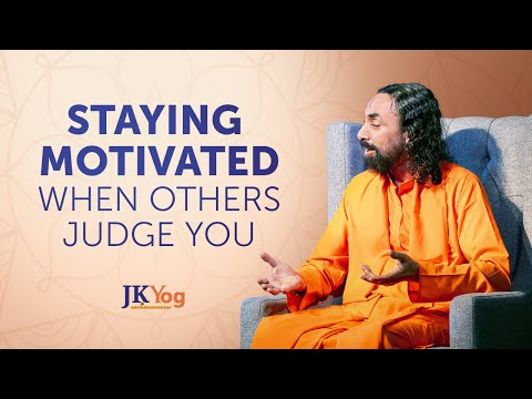 How to Stay Motivated when Others Judge You?  | Swami Mukundananda