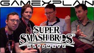 Talking Super Smash Bros. Ultimate with Treehouse's Bill Trinen & Nate Bihldorff - dooclip.me