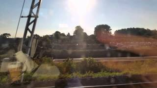 preview picture of video 'Entering France from Eurotunnel'