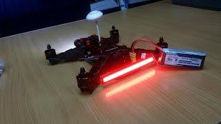 Квадрокоптер 250-го размера, настройка CC3D, Eachine Racer 250 FPV Drone с Banggood