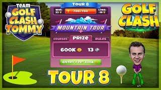 Golf Clash tips, Hole 1 - Par 4, Vineyard Acres - Vintage Open Tournament - PRO & EXPERT Guide