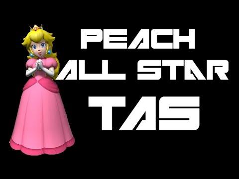 SSBM: Peach All Star Mode (Very Hard) [TAS]