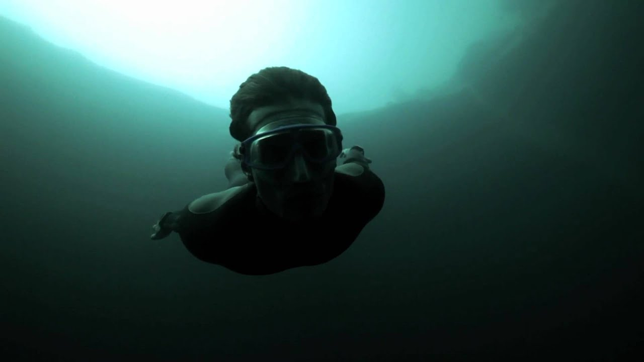 Freediver Plunges Into The Abyss