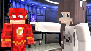 Minecraft Fnaf: Whats inside Fnaf Sister Location? The Flash and his Girlfriend check it out.