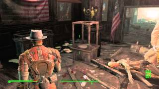 Fallout 4 - The Lost Patrol: Listen to Knight Astlin's Holo-Tape at National Guard Training Center