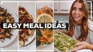 EASY 1 PERSON MEAL IDEAS | 7 Healthy Recipes for 1 Person | 2020