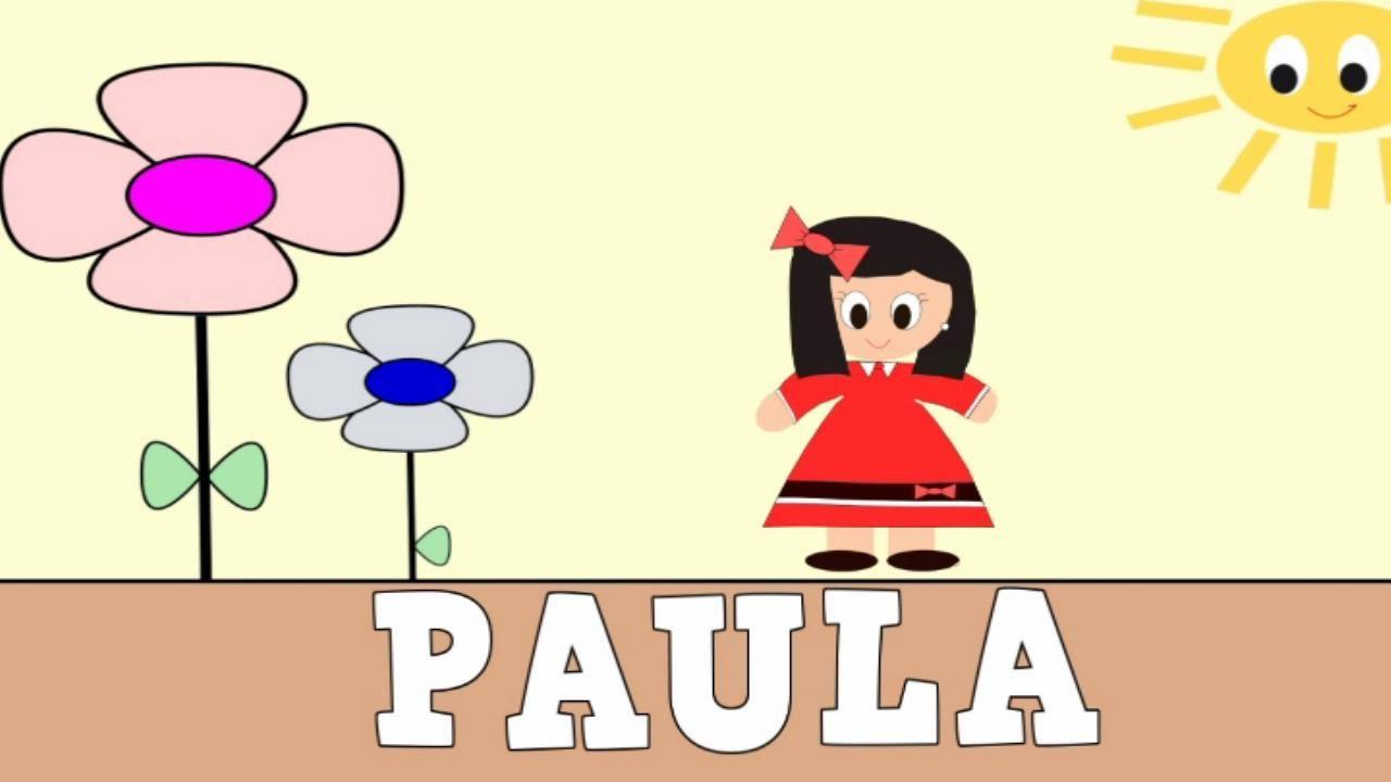 Aprender a Leer y Escribir PAULA - Vídeos Educativos para Niños y Bebés