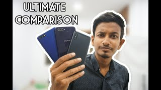 Oppo A3s VS Huawei Y7 Pro VS Xiaomi A2 Lite  | Ultimate Comparison | ATC