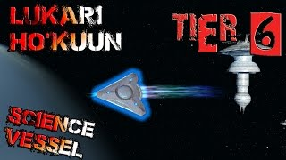 Lukari Ho'kuun Science Vessel [T6] – with all ship visuals - Star Trek Online