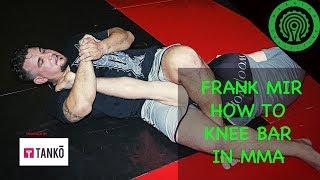 Frank Mir - How I put the Knee Bar on Brock Lesnar at UFC 81 MMA Tutorial