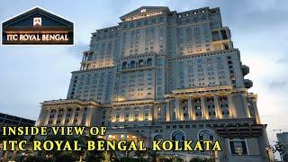 5 STAR LUXURY HOTEL ITC ROYAL BENGAL KOLKATA  MAIN LOBBY  GYM  SPA  SWIMMING POOL  RESTAURANT