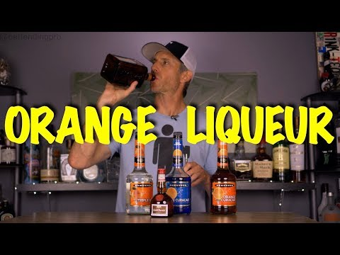 What is Orange Liqueur: Triple Sec, Orange Curaçao, Cointreau, Grand Marnier