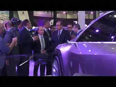المهندس/عمرو نصار وزير التجارة والصناعة يتفقد معرض القاهرة الدولى للسيارات أوتوماك فورميلا 2018