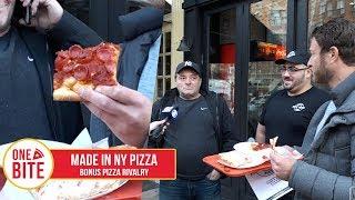 Barstool Pizza Review - Made In New York Pizza (Bonus Pizza Lawsuit)