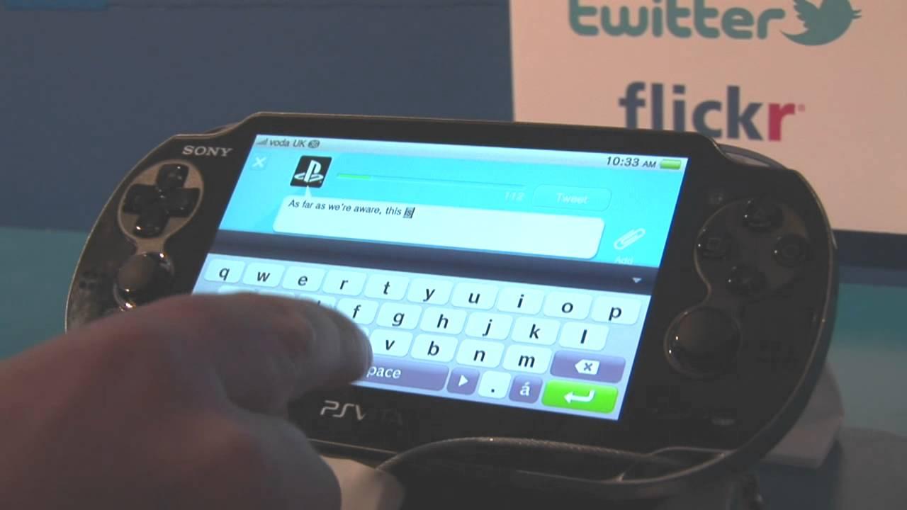 Como Tuitar no PlayStation Vita