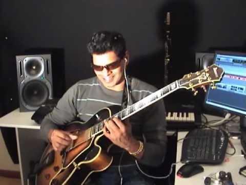 George Benson Guitar Tuition in Cmaj7