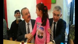 Kars Valisi Günay Özdemir, Şehit Polis Olgun Kurbanoğlu'nun Ailesini Ziyaret Etti