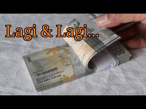 Aku Terkejut Sa'at Tukar Uang Baru di Bank, Pas Diperiksa Nomer Uangnya Kembar!!! _ INFO UANG