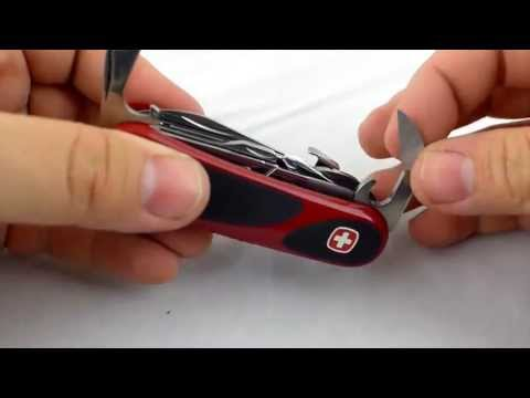 Wenger EvoGrip S557 Swiss Army Knife Review