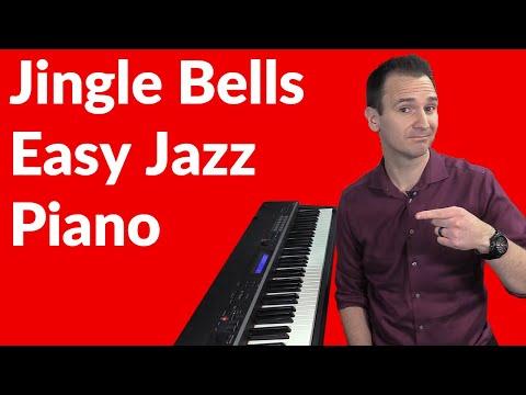 Jingle Bells Easy Jazz Piano Lesson
