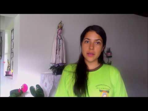 Sobre a Profissão Religiosa Temporária da Irmã Aline