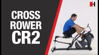 INSPIRE by HAMMER Cross Rower CR2 | Einzigartig innovatives Rudergerät