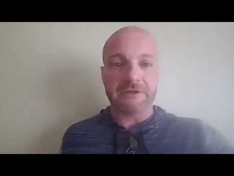 American Terrorist Neo-Nazi Christopher Cantwell balls his eyes out