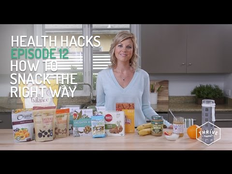 Video How to Snack the Right Way with Healthy Foods