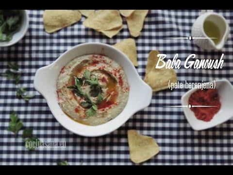 Receta De Baba Ganoush, Un Paté De Berenjena Delicioso