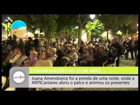 Ep. 272 - Comemorações do 25 de Abril com Concerto de Joana Amendoeira