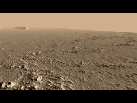 Athabasca Valles HiRISE DEM Animation