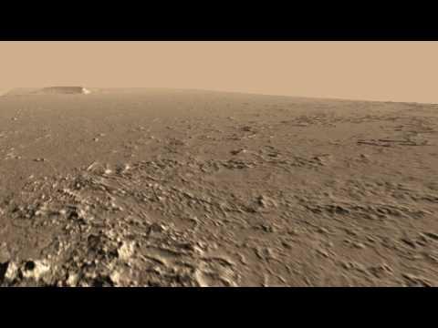 Athabasca Valles HiRISE DEM Animation