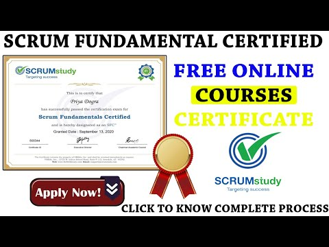 Scrum Fundamentals Certified Free Course with ... - YouTube