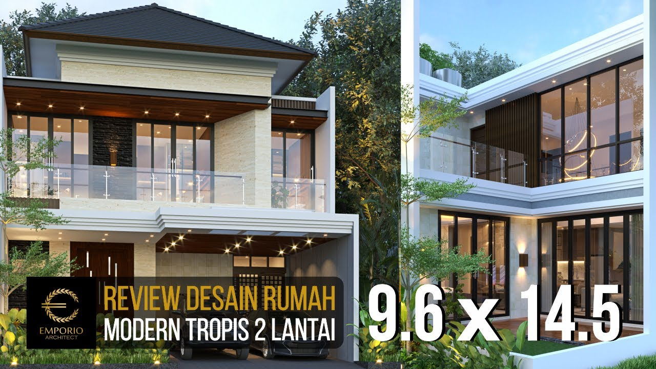 Video 3D Mrs. Lia Modern House 2 Floors Design - Bekasi, Jawa Barat