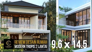 Video Desain Rumah Modern 2 Lantai Ibu Lia di  Bekasi, Jawa Barat