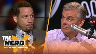 Chris Broussard: KD & Kyrie 'could win' a title with Nets, talks Kawhi & Lakers   NBA   THE HERD