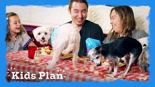 Dinner Date with Dogs! | Kids Plan | HiHo Kids