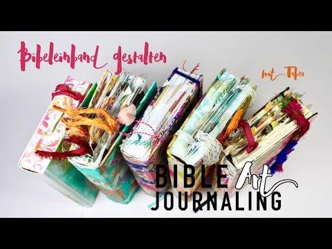 Bibeleinband gestalten mit Tabea