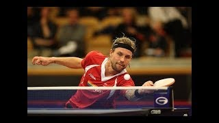 Michael Maze   Master Of Lob And Sidespin (Table Tennis Legend)