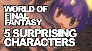 5 Surprising, But Awesome Characters In World Of Final Fantasy!