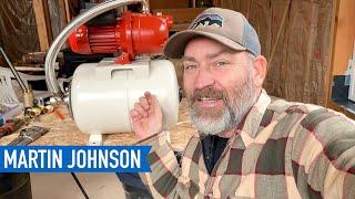 DIY Shallow Well Pump Installation | Off Grid Cabin Build #54