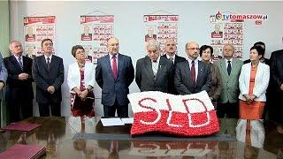 preview picture of video 'SLD Tomaszów Mazowiecki - rozpoczęcie kampanii wyborczej 2014'