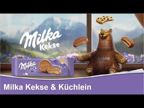 Milka Kekse und Küchlein