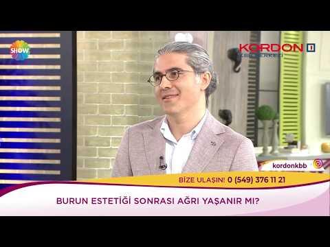 Can Ercan - Burun Estetiği Sonrası Ağrı - Show Tv Kendine İyi Bak