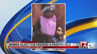 Amber Alert Issued For 4-month-old
