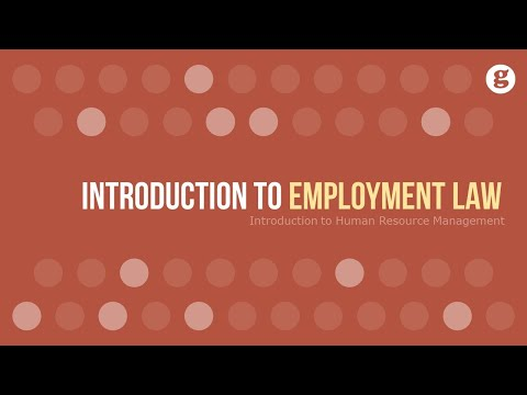 Introduction to Employment Law - YouTube