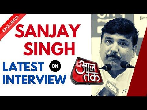 Sanjay Singh on Aaj Tak | Latest Interview