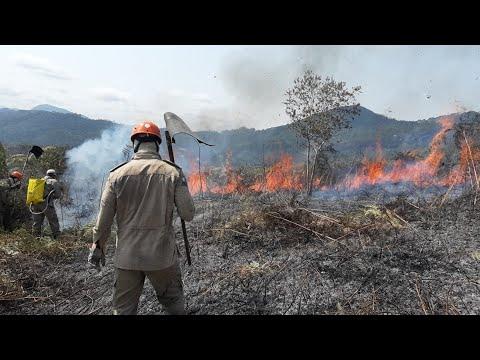 Bombeiros de Teresópolis alertam para a temporada de incêndios florestais