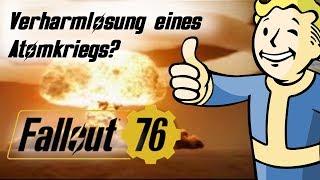 Verharmlost Fallout 76 Atomkrieg?