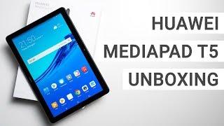 Huawei MediaPad T5 Unboxing & Erster Eindruck | Deutsch